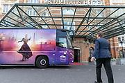 2019, August 13. Grand Hotel Amrath Kurhaus, Scheveningen, The Netherlands. Albert Verlinde at the  state banquet to celebrate the start of the rehearsals for the Anastasia musical.