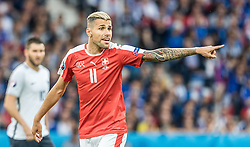 19.06.2016, Stade Pierre Mauroy, Lille, FRA, UEFA Euro, Frankreich, Schweiz vs Frankreich, Gruppe A, im Bild Valon Behrami (SUI) // Valon Behrami (SUI) during Group A match between Switzerland and France of the UEFA EURO 2016 France at the Stade Pierre Mauroy in Lille, France on 2016/06/19. EXPA Pictures © 2016, PhotoCredit: EXPA/ JFK