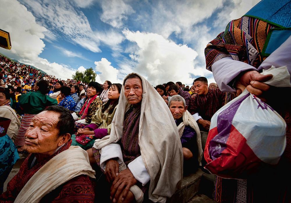 Asia, Tibet, Bhutan, Thimpu, Tsechu, Cham