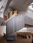 Osterkirche in Oberwart / Catholic church in Oberwart, Burgenland, Austria.Architects: Günther Domenigg, Eilfried Huth