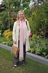 FFION HAGUE at the RHS Chelsea Flower Show 2009 held inthe gardens of the Royal Hospital Chelsea on 18th May 2009.