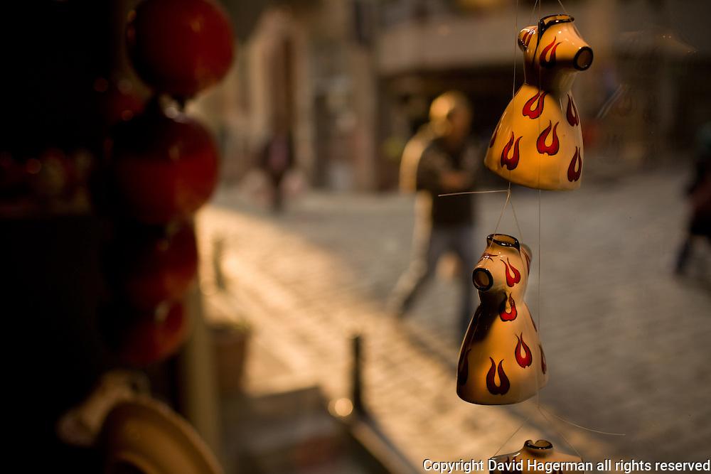 Ceramics retailer SIR, Galata, Istanbul, Turkey