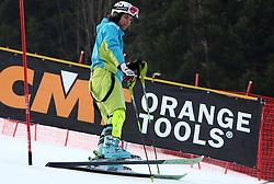 Miha Kuerner at 9th men's slalom race of Audi FIS Ski World Cup, Pokal Vitranc,  in Podkoren, Kranjska Gora, Slovenia, on March 1, 2009. (Photo by Vid Ponikvar / Sportida)