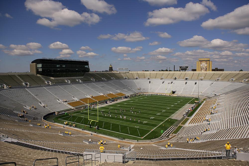 Notre Dame Stadium Saturday September 17, 2005.