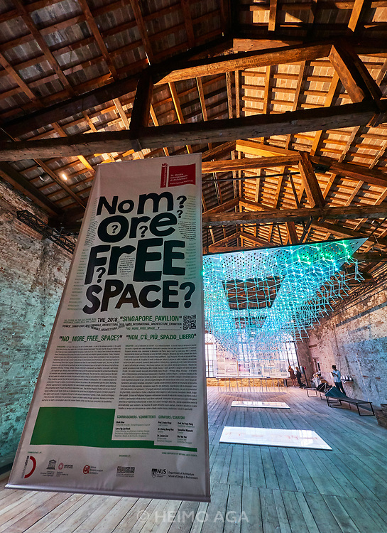 "FREESPACE - 16th Venice Architecture Biennale. Arsenale. Singapore, ""No More Free Space?"""