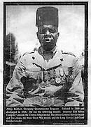 Abbas Bukheit was a Quartermaster in the King's African Rifles.  (circa 1910)