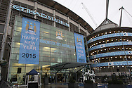 General view of the Etihad Stadium, home of Manchester City, Manchester.<br /> Picture by Michael Sedgwick/Focus Images Ltd +44 7900 363072<br /> 01/01/2015
