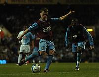 Photo: Tony Oudot.<br /> Tottenham Hotspur v Aston Villa. The FA Barclays Premiership. 01/10/2007.<br /> Craig Gardner of Aston Villa scores from a free kick
