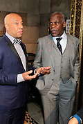 January 30, 2017-New York, New York-United States: (L-R) Media Mogul Russell Simmons (Honoree) and Actor Danny Glover attend the National Cares Mentoring Movement 'For the Love of Our Children Gala' held at Cipriani 42nd Street on January 30, 2017 in New York City. The National CARES Mentoring Movement seeks to dispel that notion by providing young people with role models who will play an active role in helping to shape their development.(Terrence Jennings/terrencejennings.com)