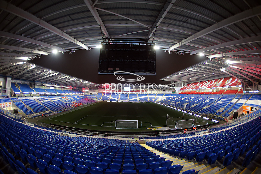 The Cardiff City Stadium before the Sky Bet Championship match between Cardiff City and Brighton and Hove Albion at the Cardiff City Stadium, Cardiff, Wales on 10 February 2015.