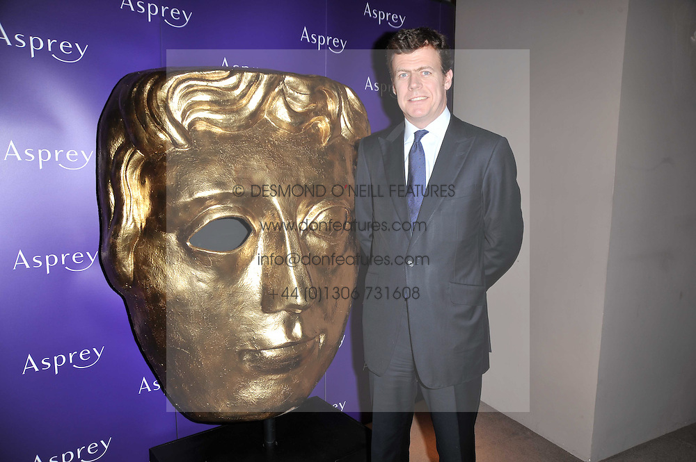 PADDY BYNG Managing Director of Asprey at the BAFTA Nominees party 2011 held at Asprey, 167 New Bond Street, London on 12th February 2011.