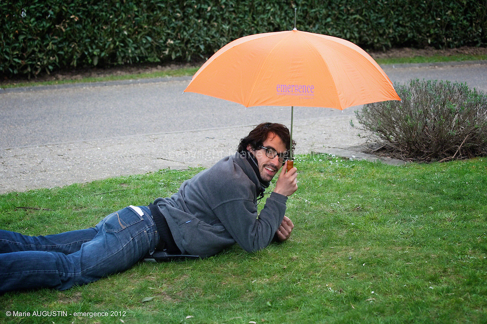"""Michaël GAUDIN, assistant réalisateur - tournage scène libre """"Terre-Battue"""" de Stéphane DEMOUSTIER - emergence 2012"""