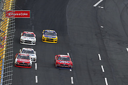 May 26, 2018 - Concord, North Carolina, United States of America - Ryan Reed (16) and Ty Majeski (60) battle for position during the Alsco 300 at Charlotte Motor Speedway in Concord, North Carolina. (Credit Image: © Chris Owens Asp Inc/ASP via ZUMA Wire)