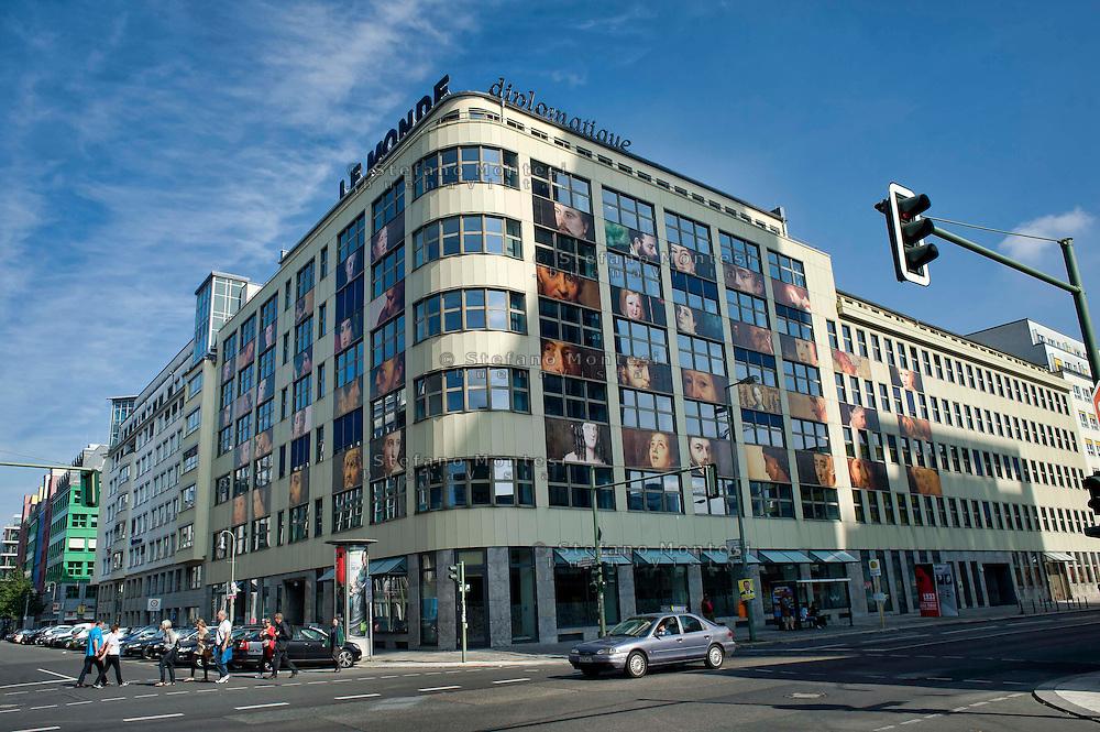 Berlino 14  Settembre 2013<br /> La sede del settimanale Le Monde diplomatique<br /> The headquarters of the weekly Le Monde diplomatique