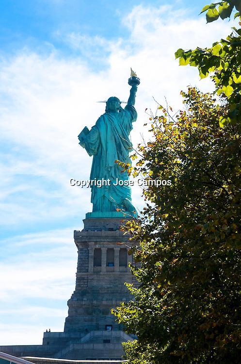 Liberty Island. Statue of Liberty