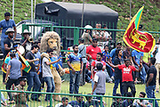 Sri Lankan fans during the One Day International match between Sri Lanka and England at Pallekele International Cricket Stadium, Pallekele, Sri Lanka on 20 October 2018.