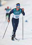 Great Britain's Andrew Musgave in the Men's 50km Mass Start Classic at the Alpensia Cross Country Centre during day fifteen of the PyeongChang 2018 Winter Olympic Games in South Korea.