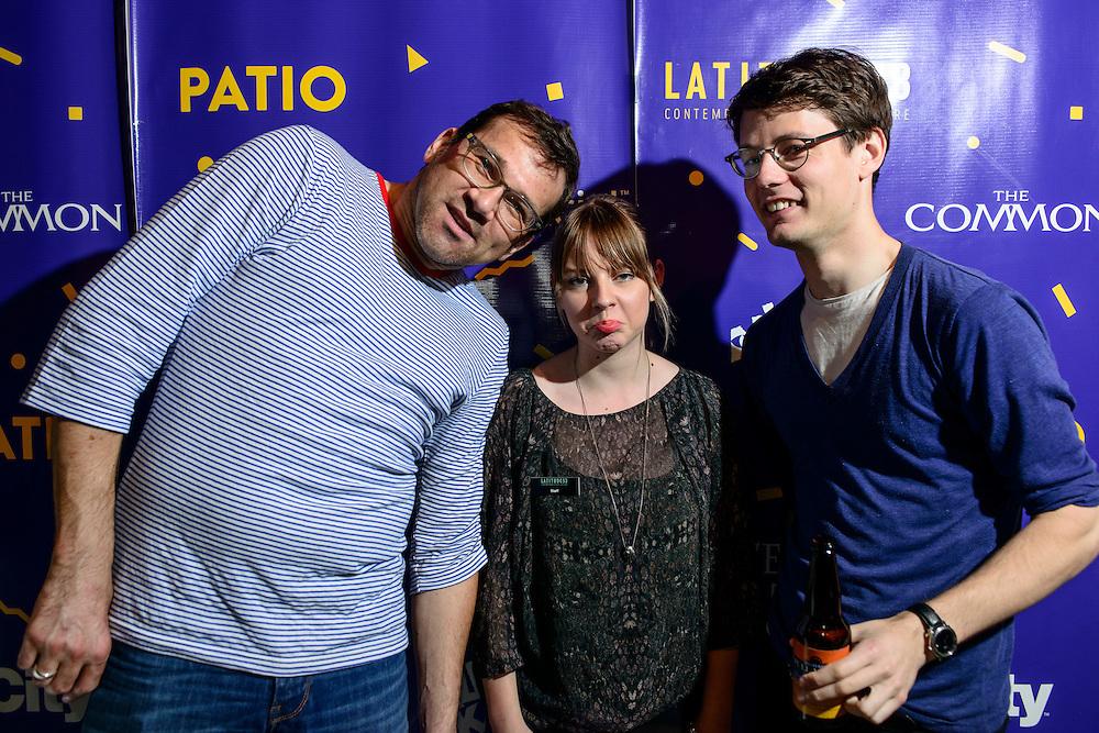 Canada, Edmonton. July/11/2013. Latitude 53 Patio Party. Host: ArtSmith Communications. Restaurant: Yellowhead Brewery. Music: DJ Alex Faid. Incubator Artist: Brenda Draney.