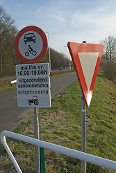 traffic sign, verkeersbord