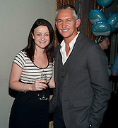 JESSICA BROWN; GARY LINEKER, Walkers party to launch 15 new flavours of crisps. Orchid, Coventry St. Leicester Sq. London.  29 March 2010
