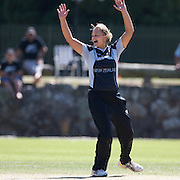 Suzie Bates appeals during the South Africa  V New Zealand group A match at Bradman Oval in the ICC Women's World Cup Cricket Tournament, in Bowral, Australia on March 12, 2009. New Zealand won the match by 199 runs. Photo Tim Clayton