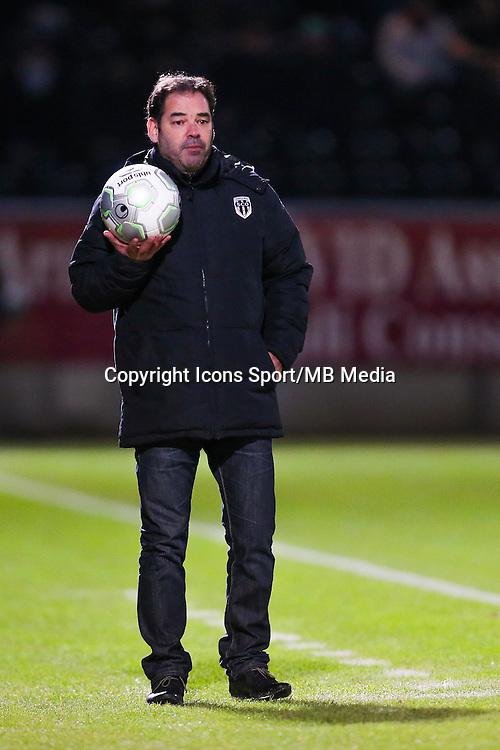 Stephane MOULIN  - 26.01.2015 - Angers / Brest - 21eme journee de Ligue 2 -<br /> Photo : Vincent Michel / Icon Sport