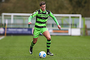 Forest Green Rovers Charlie Cooper(20) on the ball during the Vanarama National League match between Forest Green Rovers and Macclesfield Town at the New Lawn, Forest Green, United Kingdom on 4 March 2017. Photo by Shane Healey.