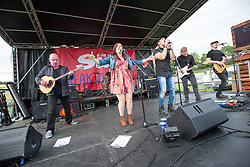 Raintown on the Sun break out stage. Sunday at Party at the Palace 2017, Linlithgow.