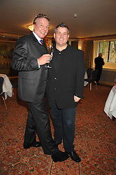 Left to right, actor & singer JESS CONRAD and fashion designer ERIC WAY at a tribute lunch for Elaine Paige hosted by the Lady Taverners at The Dorchester, Park Lane, London on 13th November 2007.<br /><br />NON EXCLUSIVE - WORLD RIGHTS