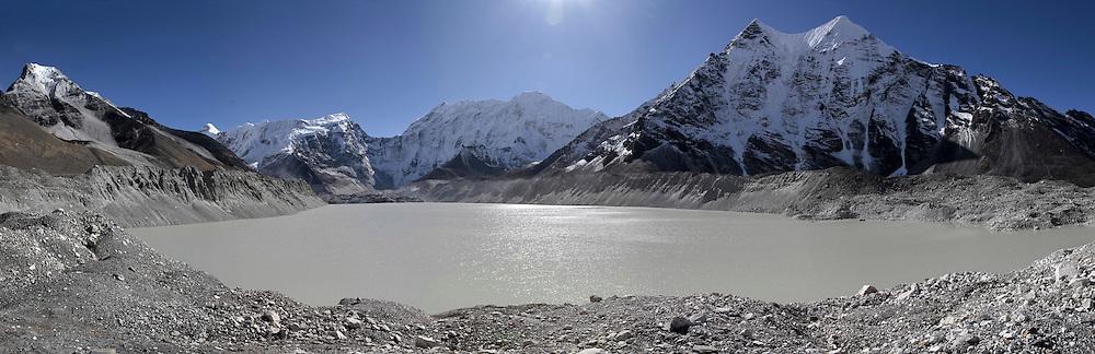 October 2009 Everest Commission WWF - Lake Imja