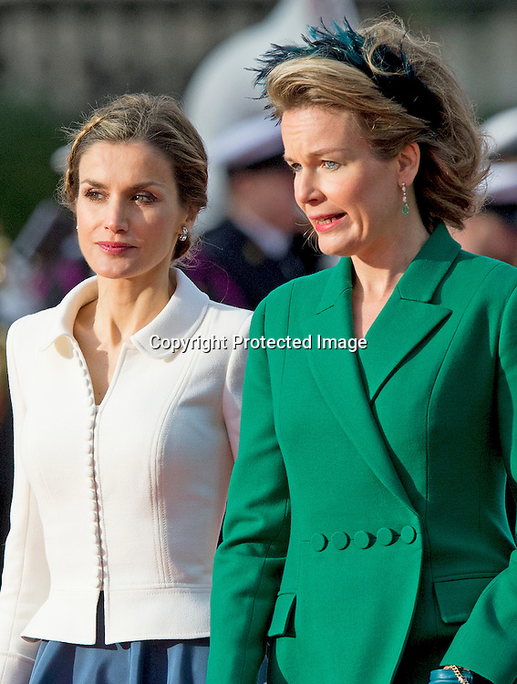Luxemburg, 12-11-2014<br /> <br /> <br /> King Felipe and Queen Letizia of Spain are visiting Belgium.<br /> <br /> <br /> <br /> <br /> Photo: Bernard Ruebsamen/Royalportraits Europe
