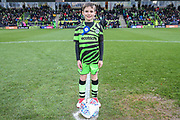 Mascot during the EFL Sky Bet League 2 match between Forest Green Rovers and Scunthorpe United at the New Lawn, Forest Green, United Kingdom on 7 December 2019.