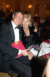 ZAC GOLDSMITH and ANNABEL ELLIOT at a dinner in aid of the BAAF (British Association for Adoption & Fostering) held at The Savoy, London on 22nd March 2005.<br />