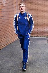 West Brom's new signing Darren Fletcher arrives at Turf Moor - Photo mandatory by-line: Matt McNulty/JMP - Mobile: 07966 386802 - 08/02/2015 - SPORT - Football - Burnley - Turf Moor - Burnley v West Brom - Barclays Premier League