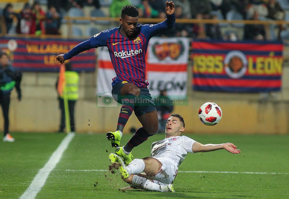 صور مباراة : كولتورال ليونيسا - برشلونة 0-1 ( 31-10-2018 ) كأس ملك إسبانيا 20181031-zaa-a181-016