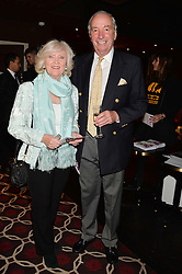 JOHN CHALK and LIBBY REEVES PURDY at the Pig Pledge Evening at Club no41, 41 Conduit Street, London on 10th March 2014.