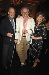 Left to right, JOHN STANDING, NICK ALLOT and SARAH STANDING at the Tatler magazine Summer Party, Home House, Portman Square, London W1 on 27th June 2007.<br />