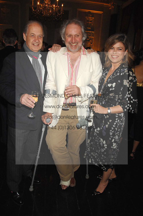 Left to right, JOHN STANDING, NICK ALLOT and SARAH STANDING at the Tatler magazine Summer Party, Home House, Portman Square, London W1 on 27th June 2007.<br /><br />NON EXCLUSIVE - WORLD RIGHTS