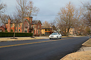 BENTONVILLE, AR - FEBRUARY 15:  Photographs of older remodeled homes along Central Avenue in Bentonville, Arkansas.<br /> CREDIT Wesley Hitt for The Wall Street Journal<br /> WALMART-Bentonville Scene-setters