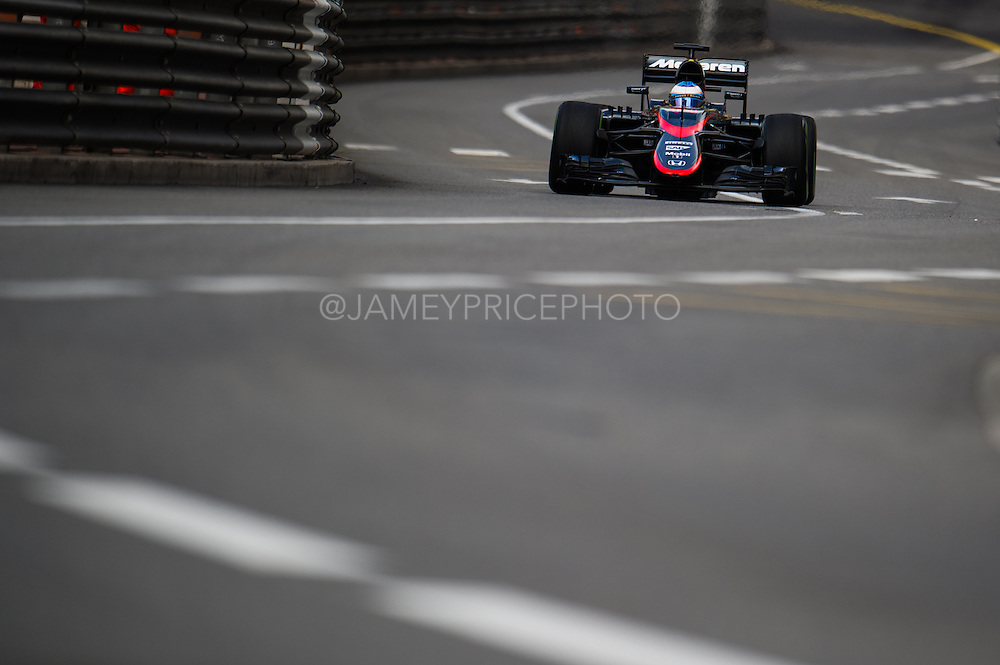 May 20-24, 2015: Monaco Grand Prix - Fernando Alonso (SPA), McLaren Honda