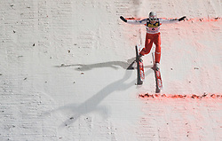 Einar Bjoern Romoeren (NOR) competes during Final round of the FIS Ski Jumping World Cup event of the 58th Four Hills ski jumping tournament, on January 6, 2010 in Bischofshofen, Austria. (Photo by Vid Ponikvar / Sportida)