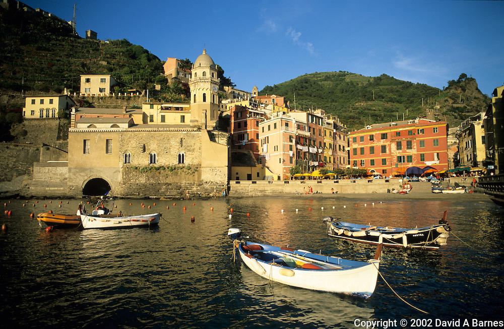 Vernazza, Liguria, Italy.Cique Terre, Mediterranean