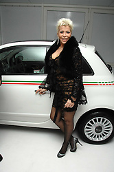 LISA VOICE at a party hosted by PPQ of Mayfair at the Fiat Flagship Store, 105 Wigmore Street, London W1 on 11th February 2008.<br />