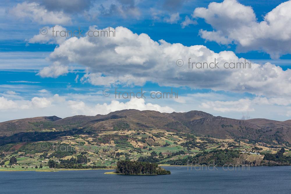 Laguna de Tota Lake  Boyaca in Colombia South America