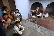 Shrine at Step well outside Jaipur, Rajasthan