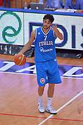 DESCRIZIONE : Trento Nazionale Italia Uomini Trentino Basket Cup Italia Olanda Italy Holland<br /> GIOCATORE : Luca Vitali<br /> CATEGORIA : Palleggio Schema<br /> SQUADRA : Italia Italy<br /> EVENTO : Trentino Basket Cup<br /> GARA : Italia Olanda Italy Holland<br /> DATA : 11/07/2014<br /> SPORT : Pallacanestro<br /> AUTORE : Agenzia Ciamillo-Castoria/Max.Ceretti<br /> Galleria : FIP Nazionali 2014<br /> Fotonotizia : Trento Nazionale Italia Uomini Trentino Basket Cup Italia Olanda Italy Holland