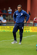 Carlos Augusto Soares da Costa Faria Carvalhal during the Friendly match between York City and Sheffield Wednesday at Bootham Crescent, York, England on 18 July 2015. Photo by Simon Davies.