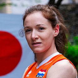 13-10-2018 JPN: World Championship Volleyball Women day 14, Nagoya<br /> Portraits Dutch Volleybal Team - Lonneke Sloetjes #10 of Netherlands
