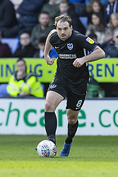 March 23, 2019 - Meadow, Shropshire, United Kingdom - Brett Pitman of Portsmouth FC on the ball during the Sky Bet League 1 match between Shrewsbury Town and Portsmouth at Greenhous Meadow, Shrewsbury on Saturday 23rd March 2019. (Credit Image: © Mi News/NurPhoto via ZUMA Press)