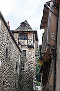 France. Haute Loire.  Blesles village , center of France, /  village de Blesles, vallee de l'alagnon , centre de la france